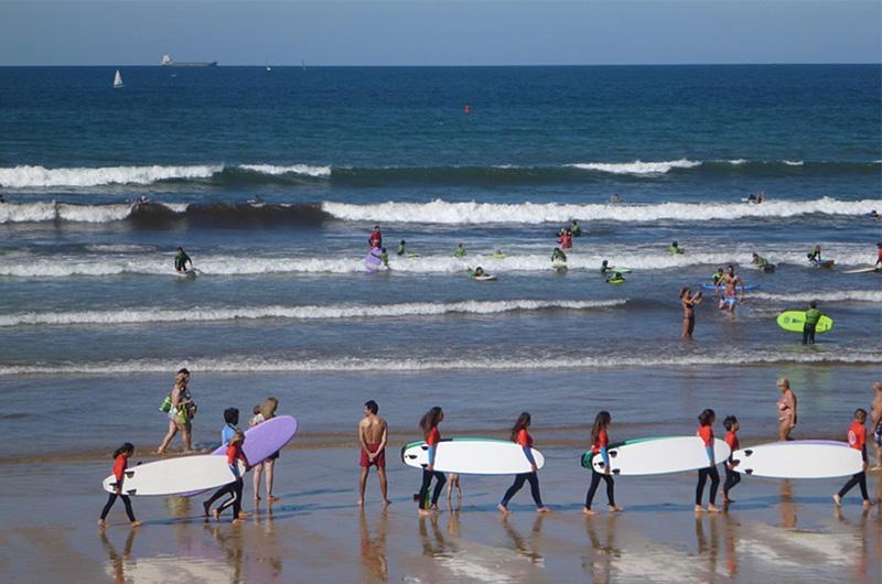 Surfparad i Gijón