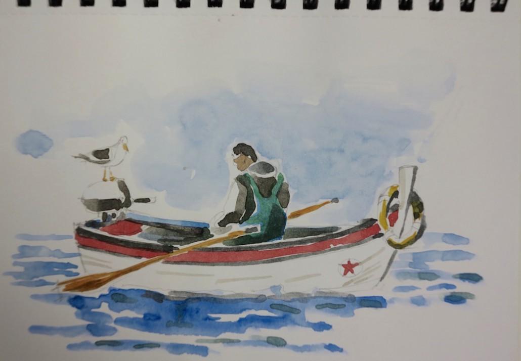 En vän i båten