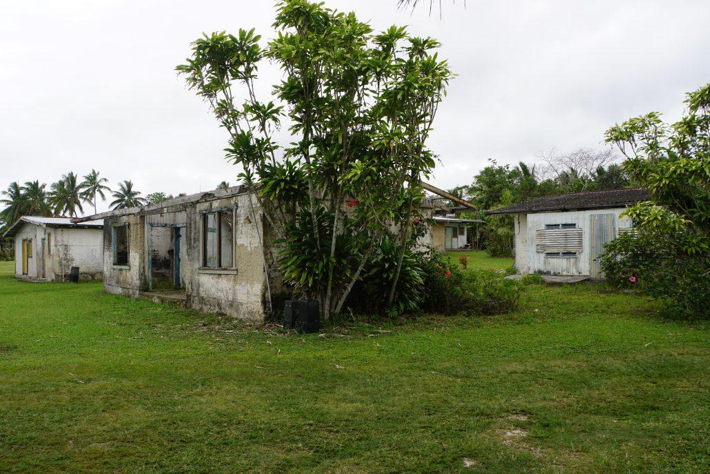 Övergivna hus, lite sorgligt.