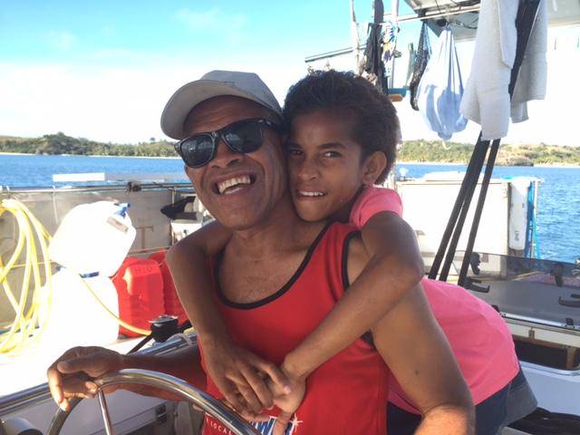 Ratt med sin dotter Dinah