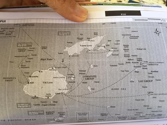 Vi planerar för nya seglingar, nu inom Fijis övärld.