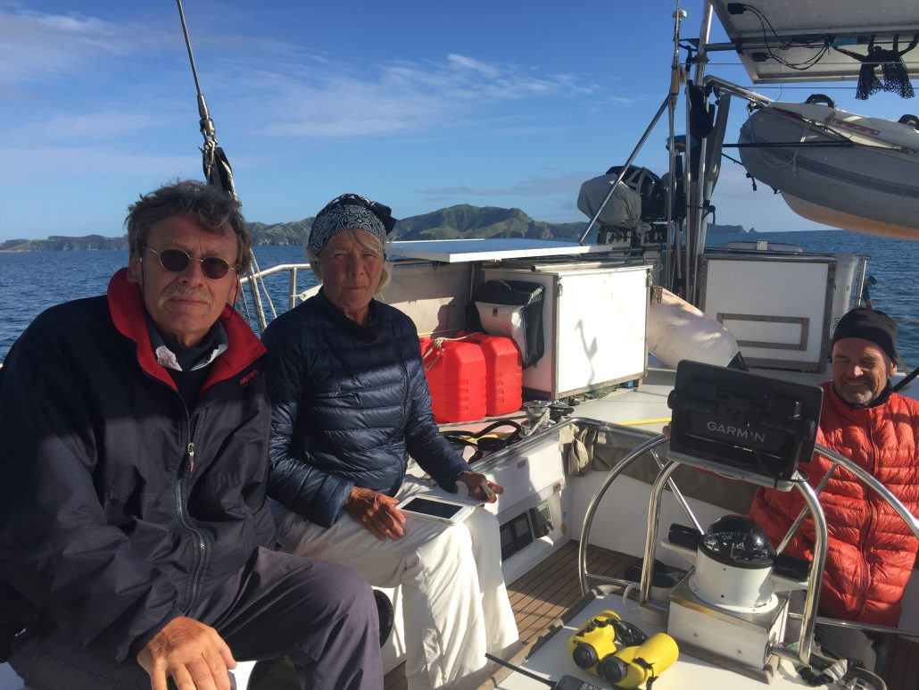 Siste dagen och seglingen in i Bay of Island. Kallare nu.