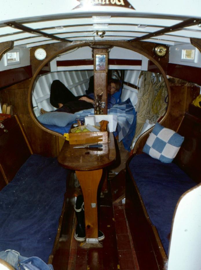 Rörpiken ombord på Vanita.